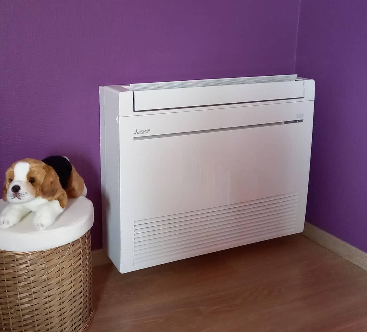 Système de chauffage et climatisation chez un particulier